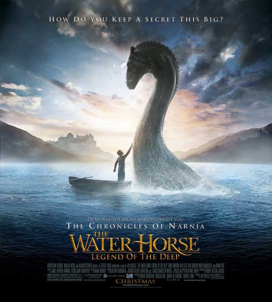 Loch Ness Monster Returns to Hollywood [LiveScience 2007-12-19]; Image ONLY