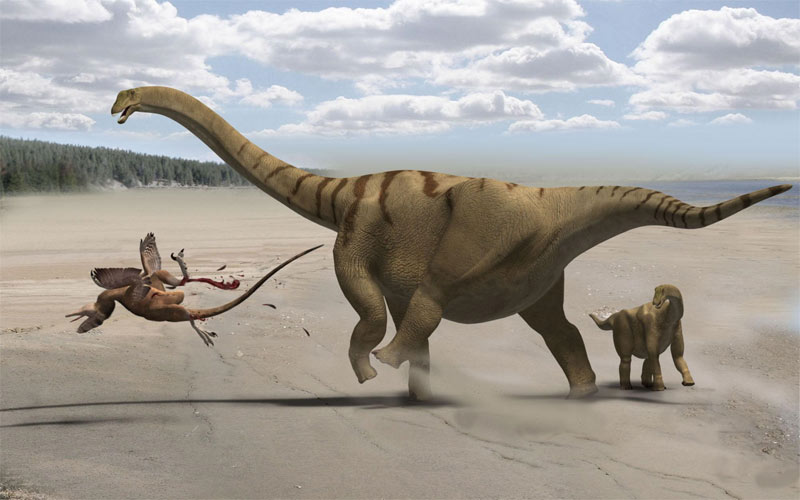 Thunder Thighs: New Dinosaur Had a Colossal Kick [LiveScience 2011-02-23]; Image ONLY