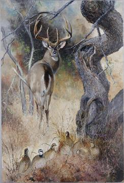 [Animal Art - Don Keller] An Audience; Image ONLY