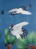 [Animal Art] Embroidery of Red-crowned Cranes