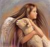 [Animal Art - Nancy Noel] Angel of Peace
