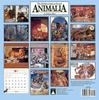 CPerrien scan] The Animalia Calendar 2000: Back