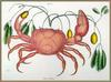 Land Crab (Cancer terreltris?) - Catesby