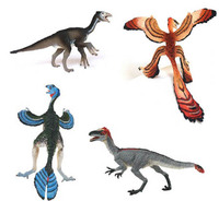 Feathered Dinosaur Collection - 4 Figure Set