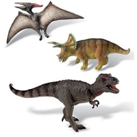 Cretaceous Dinosaur Collection - 3 Figure Set