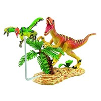 Deluxe 'Hungry Raptor' Diorama Puzzle