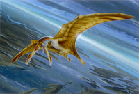 New African Pterosaur by Todd Marshall