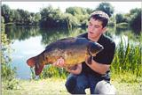 Fred Guttfield With A Nice Mirror Carp