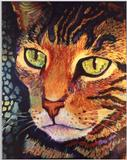 Cat Painting - Zigger