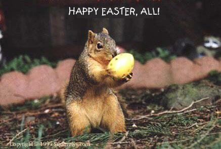 Twithy sez Happy Easter!; Image ONLY